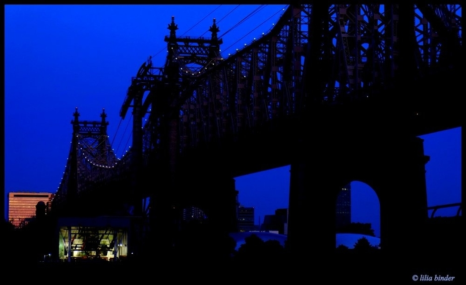 Queensborough Bridge at Night | Lens model not set <br> Click image for more details, Click <b>X</b> on top right of image to close