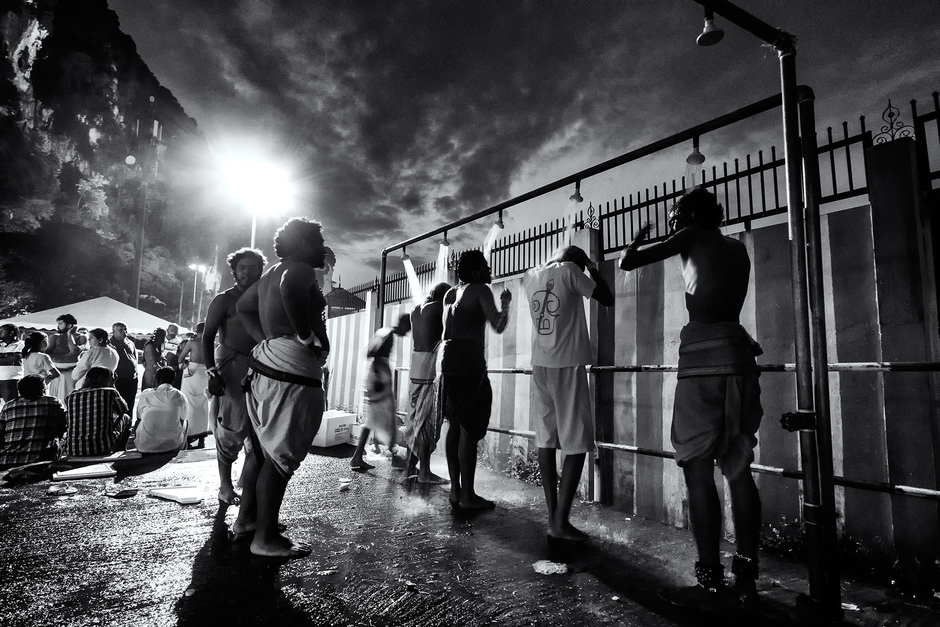 Cleansing Bath- Thaipusam Festival | Zeiss Touit f2.8 12mm  <br> Click image for more details, Click <b>X</b> on top right of image to close