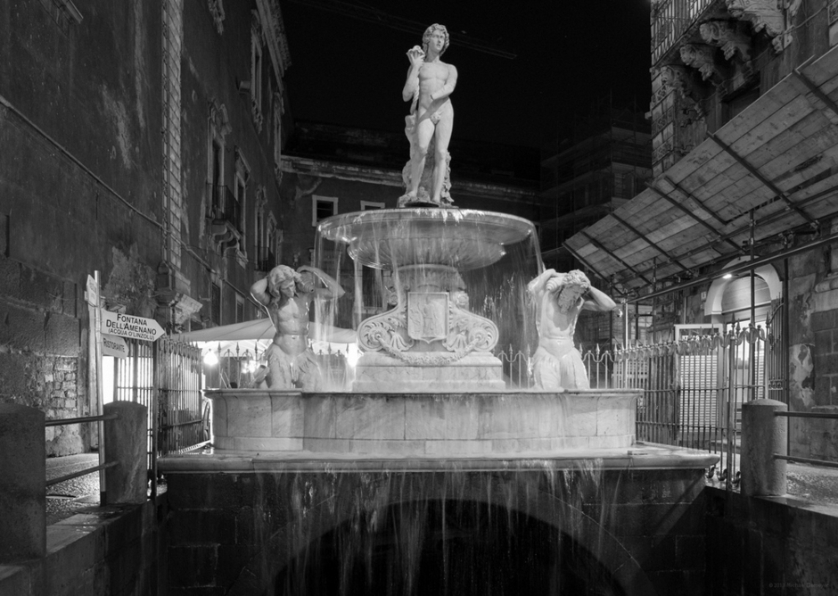 Fountain, Catania, Italy | Fuji 18-55mm f/2.8 - 4.0 LM OIS <br> Click image for more details, Click <b>X</b> on top right of image to close
