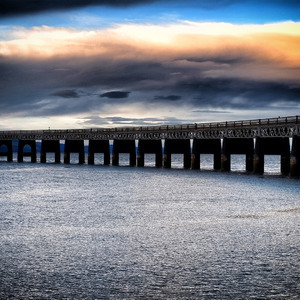 River Tay Rail Bridge | Fuji 35mm f/1.4