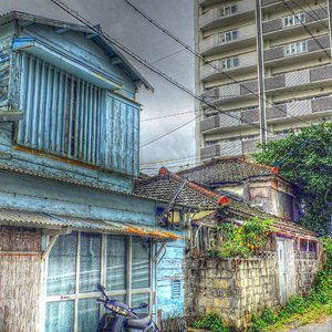 Naha City old and the new | Lens model not set <br> Click image for more details, Click <b>X</b> on top right of image to close