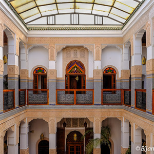 Photo: A traditional Riad in Fez, Morocco