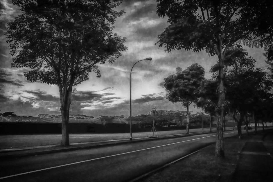 A quiet road in the morning | Lens model not set <br> Click image for more details, Click <b>X</b> on top right of image to close